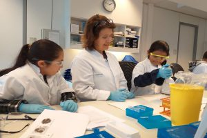 Visit by the Weekendschool at Erasmus MC, Department of Immunology
