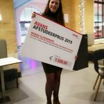 Avans Graduation prize for Manon Gloudemans
